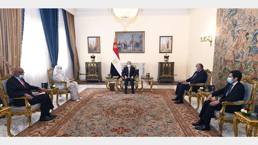 Sisi: Sudan's Stability is Integral Part of Egypt's Security