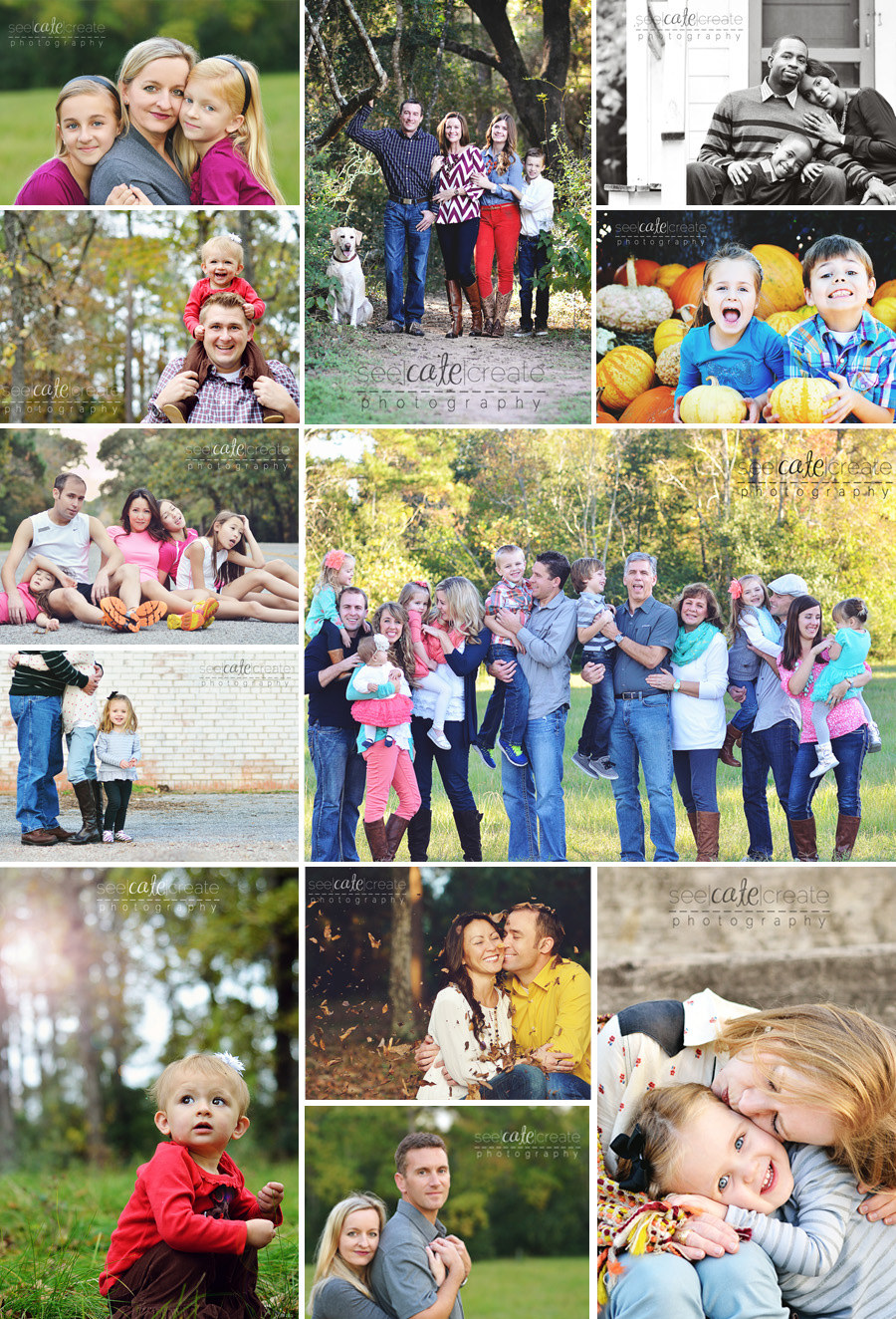 Fall Family Photo shoots