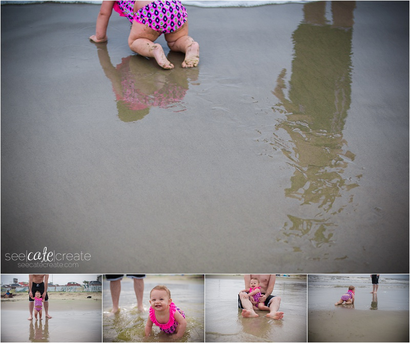 beach photography reflection