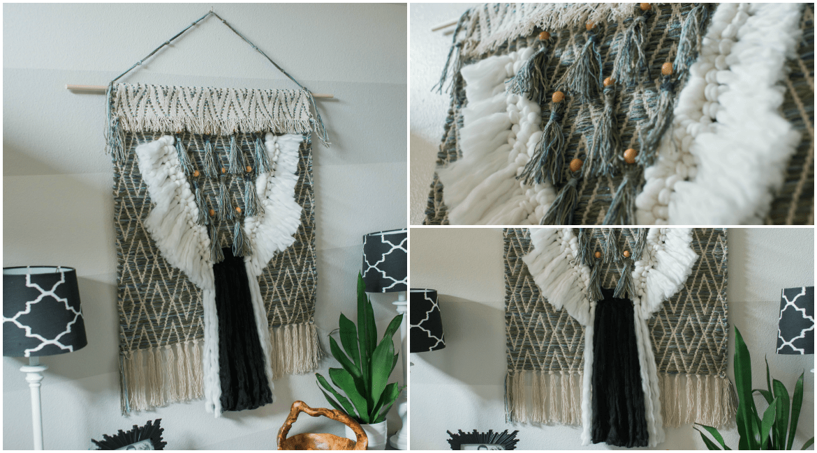 DIY Fiber Art Tapestry From a Rug | see|cate|create
