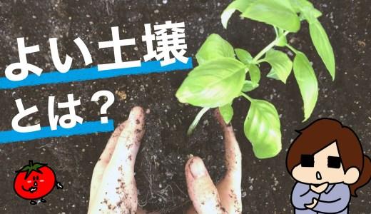 よい土壌とは?