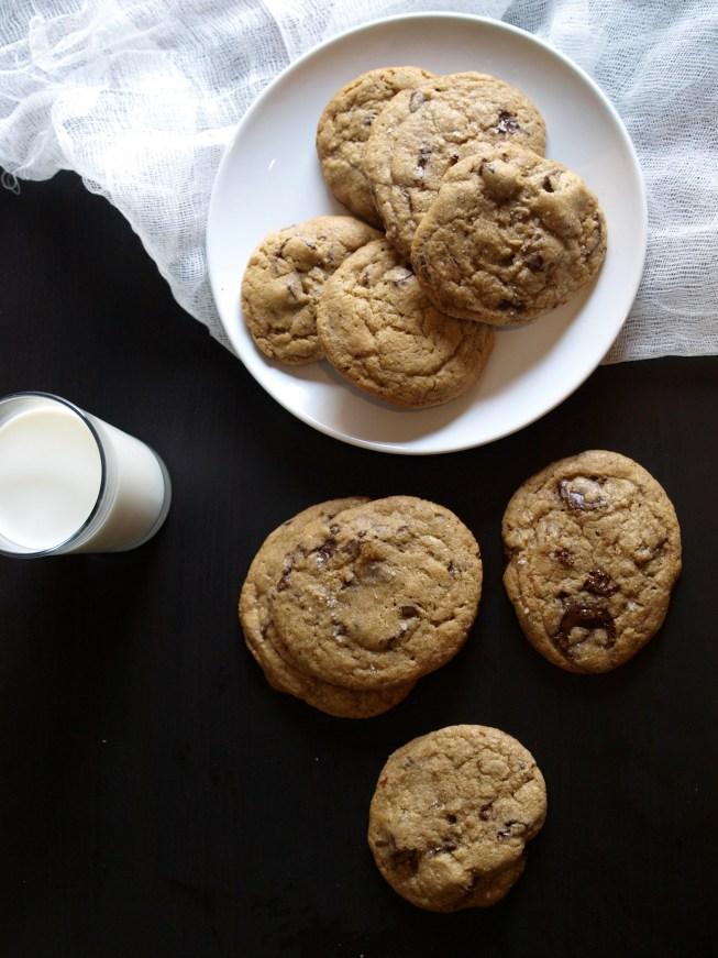 Spelt Chocolate Chip Cookie