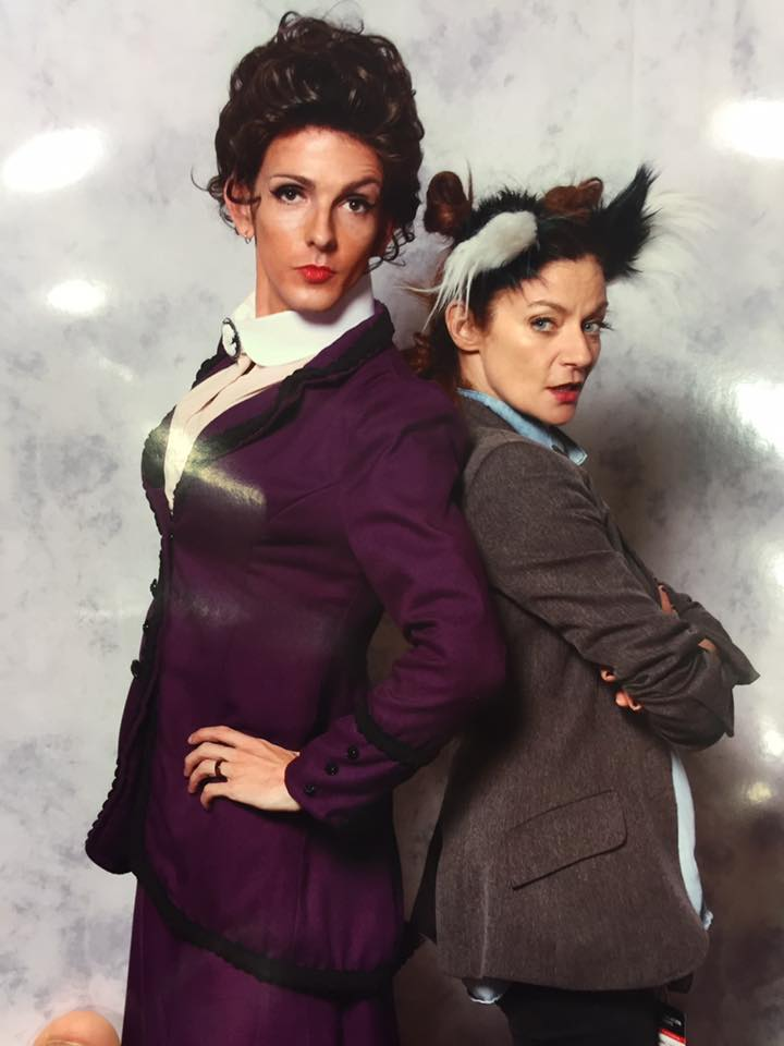 Original Pattern Draft by Jai Lynn Sovereign Missy Doctor Who Cosplay Michelle Gomez custom designs