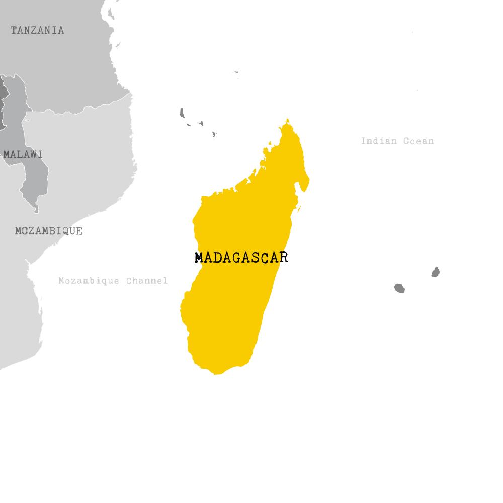 map de madagascar