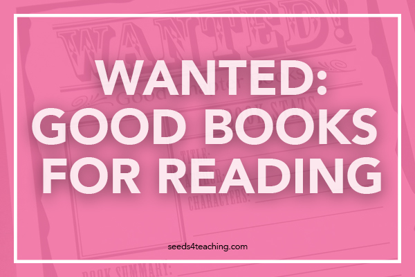 Wanted! Fourth Graders Who Love to Read!