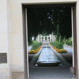View from the entrance
