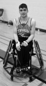 Nick Theelen: comedian and wheelchair basket ball player