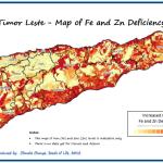 Maps of Timor Leste