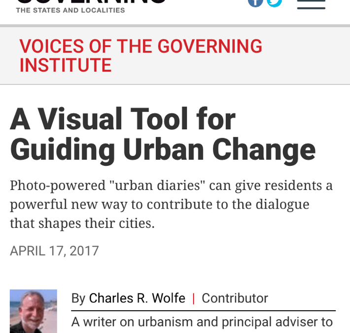 Governing: A Visual Tool for Guiding Urban Change