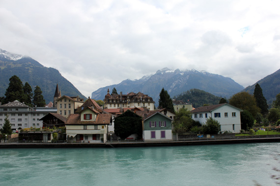 swiss town near-interlaken