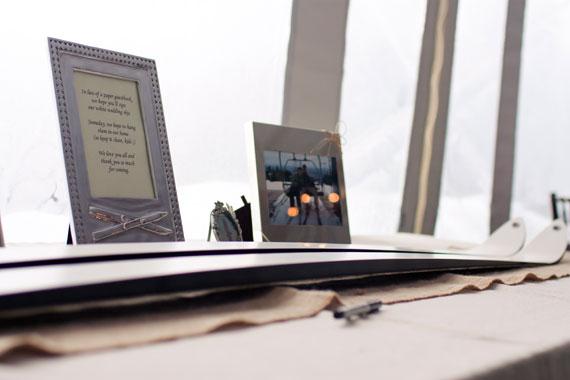 wedding-white-ski guest-book