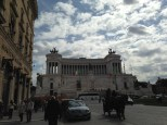 Vittoriano Monument (celebrates the uniting of Italy as a nation)
