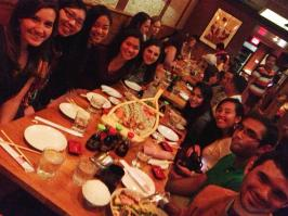 Celebrating Sal's bday with Sushi!