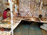 Jewelry galore at the street market
