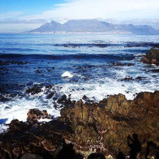 Table Mountain from a distance