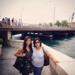 My aunt & I