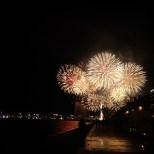 Fireworks over the Jet d'Eau