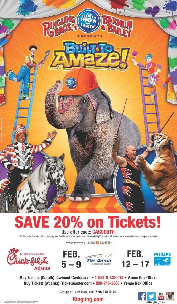 Ringling Bros Circus Discount Flyer