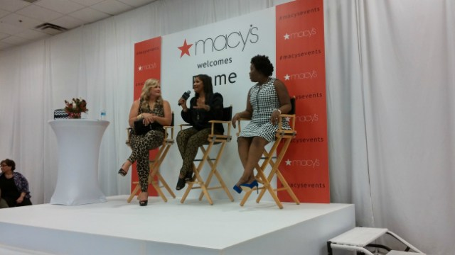 Macy's Woman Event hosted by Plus-Sized Super Model Emme