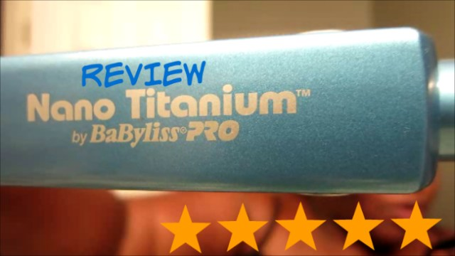 Nano Titanium by Babyliss pro