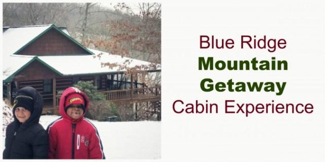 Blue Ridge Mountain Getaway Cabin Experience