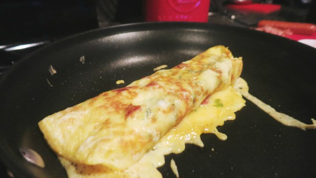 Johnsonville Sausage Folded Omelette