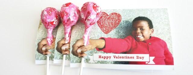 3D Photo Valentine Sucker