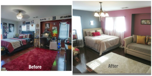 Home Tour Guest Slash Girl Room Before and After