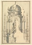 bibiena-giuseppe-galli-eelevation-and-section-of-the-catafalque-for-anna-cristina-wife-of-carlo-emanuele-iii-of-savoy