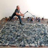 Fractals, Calculus and Jackson Pollock