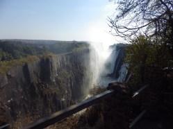Edge of the world. Zambia 2013