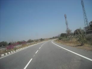 Road left behind