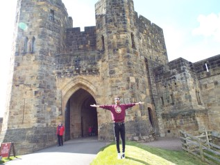 Lion Arch - Alnwick Castle's Entrance