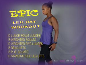 Epic Leg Day Workout