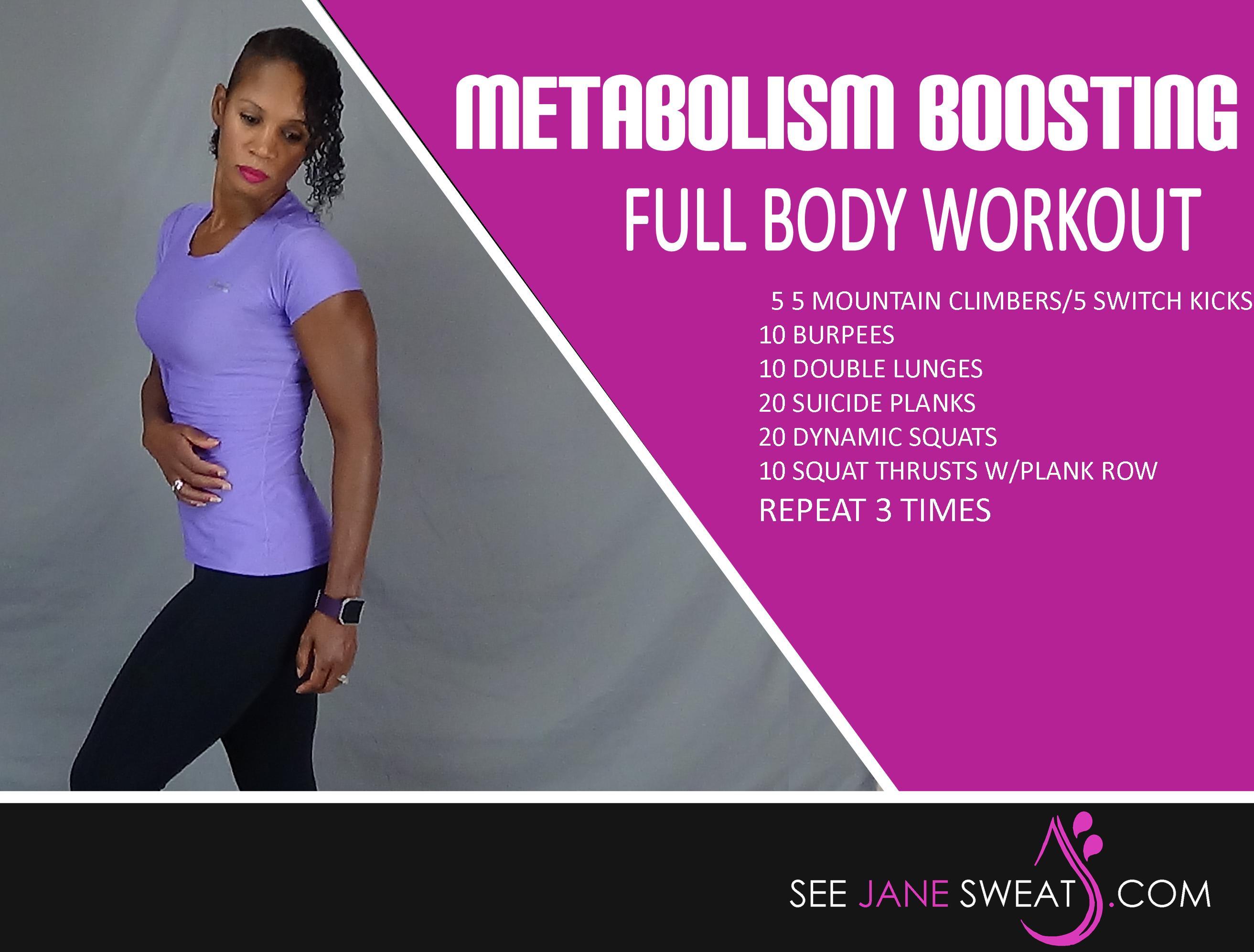 Metabolism Boosting Full Body Workout