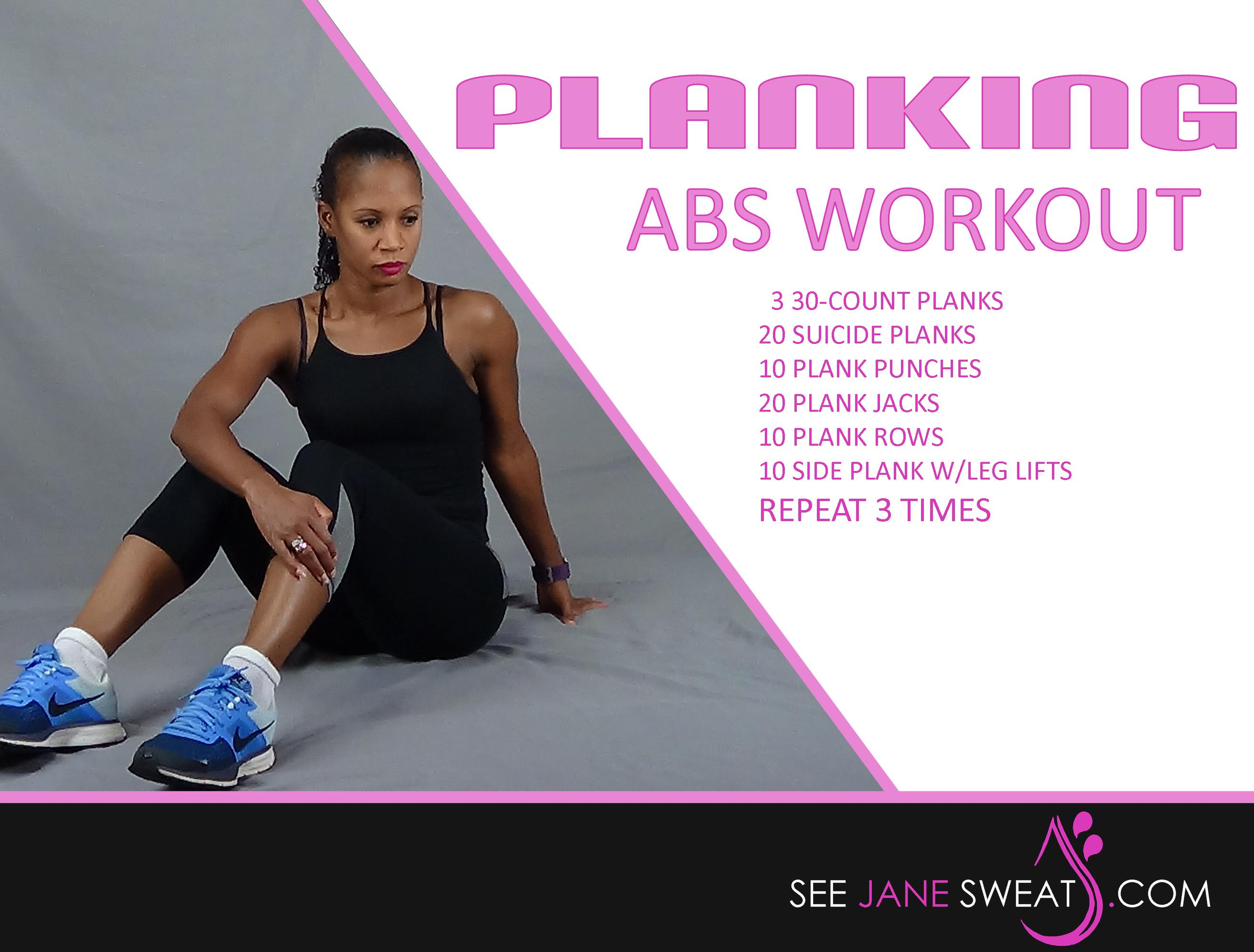 Planking Abs Workout