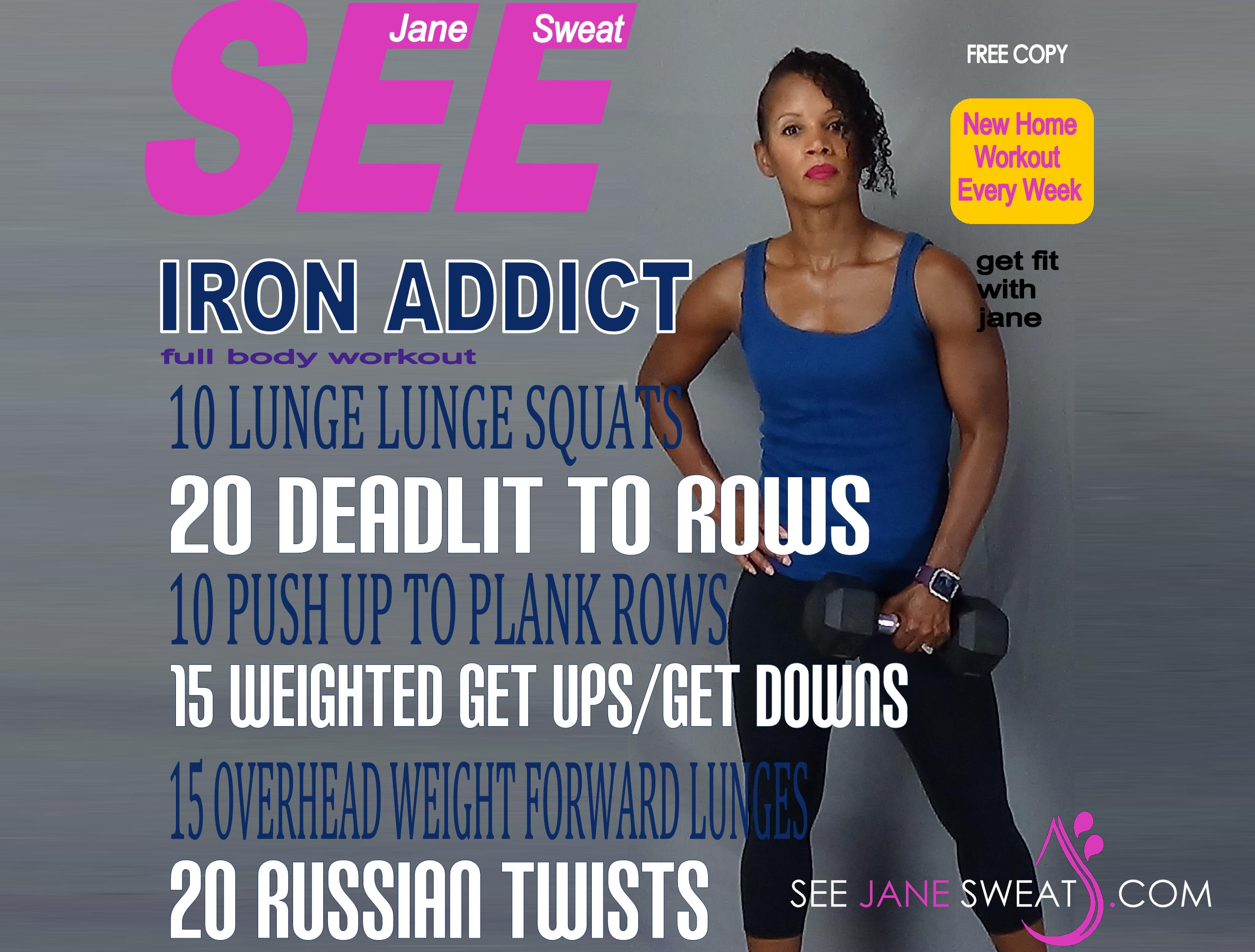Iron Addict Full Body Workout