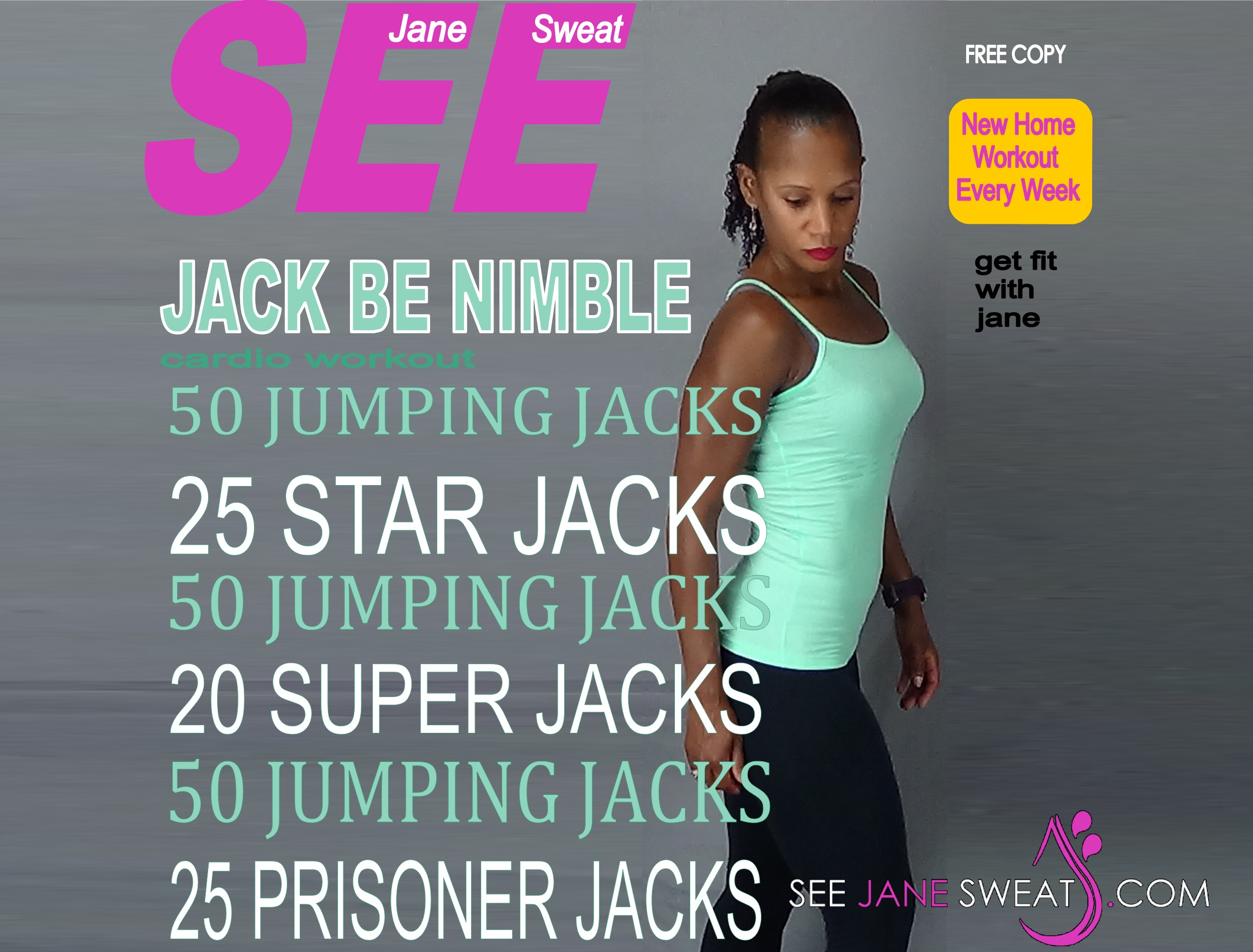 Jack Be Nimble Cardio Workout
