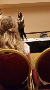 Lysa leading one of the amazing workshops held this weekend.