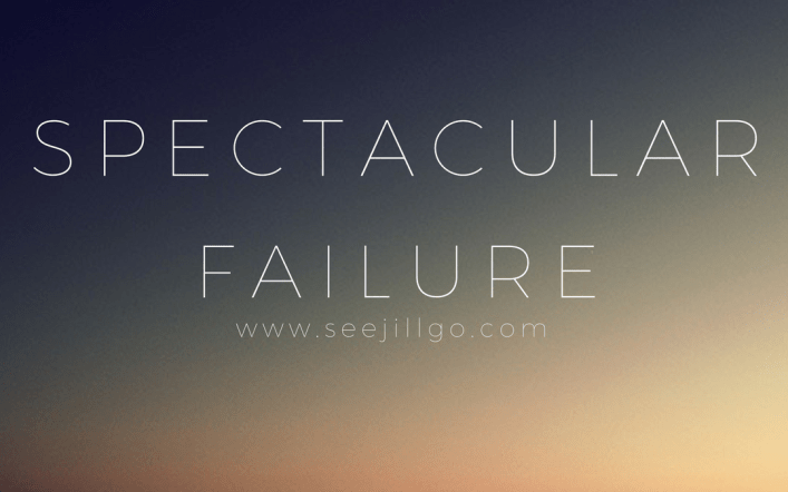 Spectacular Failure