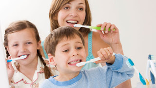 How to keep children's teeth healthy As parents care for their teeth, their children will look after theirs