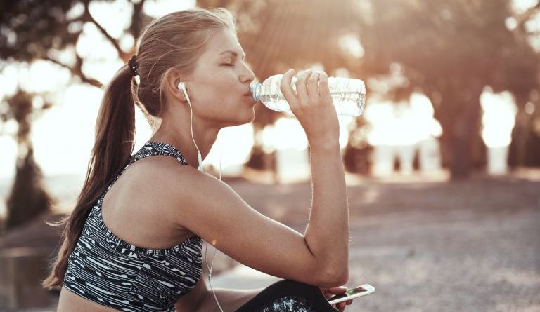 Water consumption enhance slimming