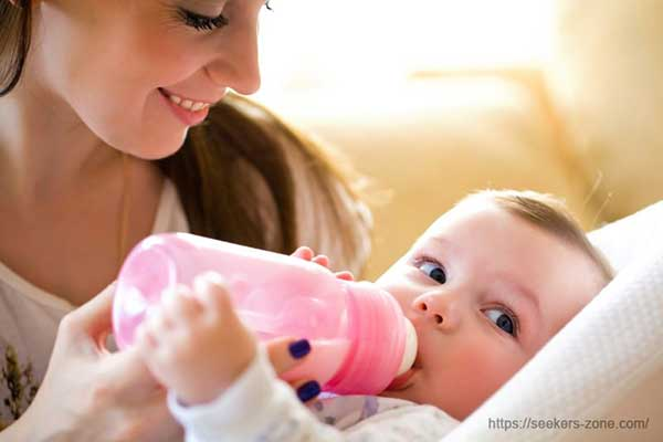 Basic guidelines for starting a bottle-feeding