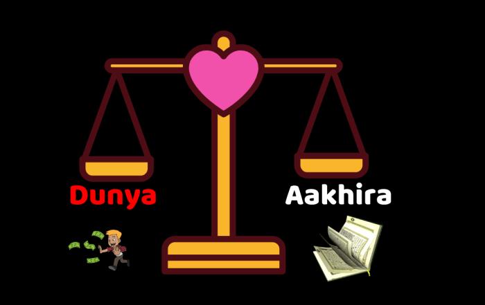Dunya and Aakhira
