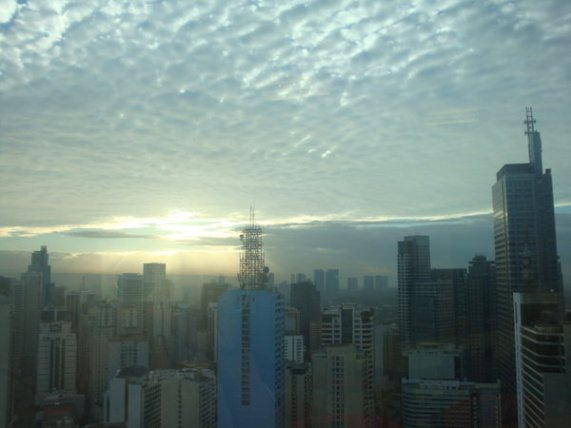 View from RCBC Tower 2, Makati City - Taken March 4, 2009
