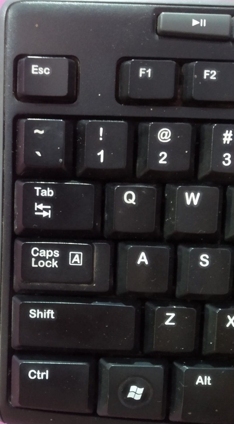 CAPS LOCK KEY
