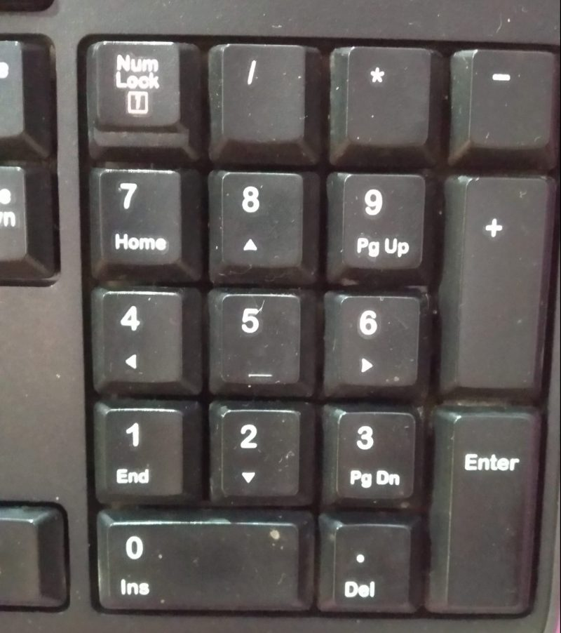 NUM LOCK KEY