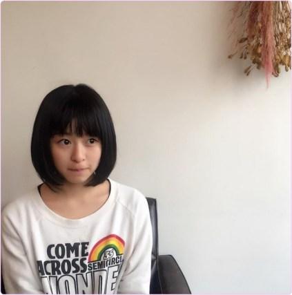 ○ヘアチェンジして髪を切りました