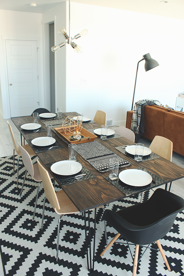DIY Kitchen Table by Seeking Alexi