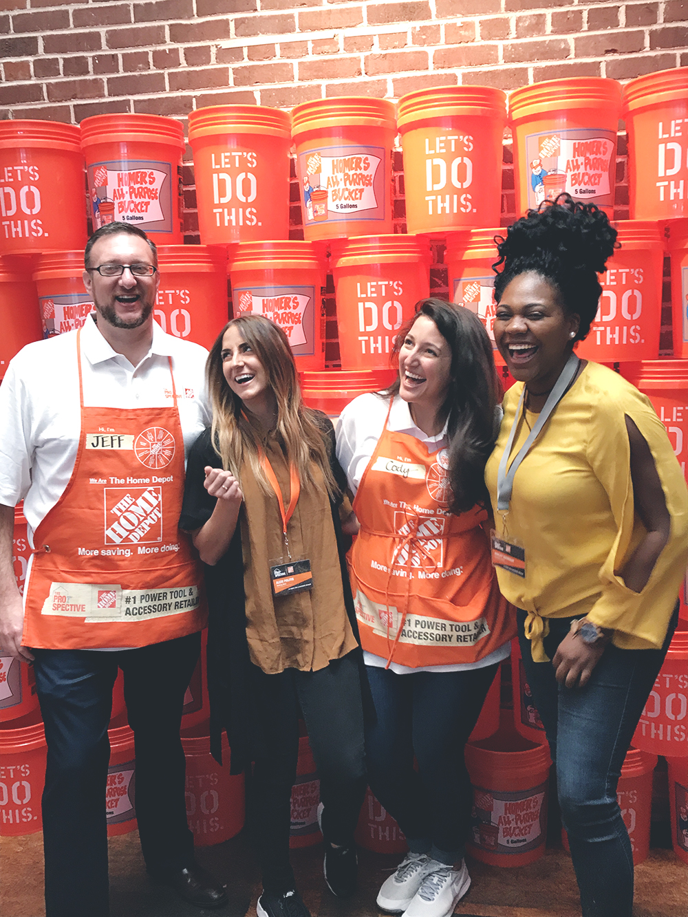 The Home Depot hosted an exclusive blogger event and it was incredible!